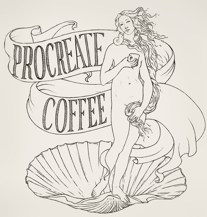 Procreate Coffee